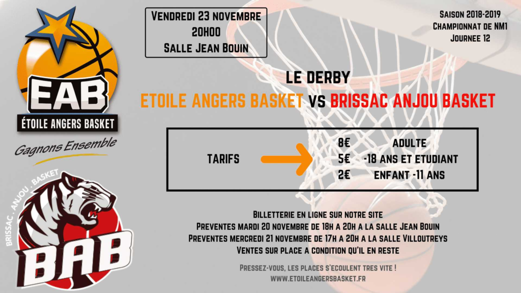 Match EAB versus BAB en NM1