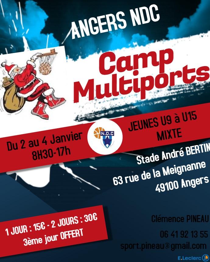 Camp multisport nouvelle année 2019
