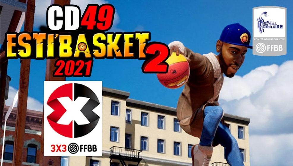 Tournoi 3×3 Esti'Basket – Samedi 10 juillet 2021 – Complexe Bertin
