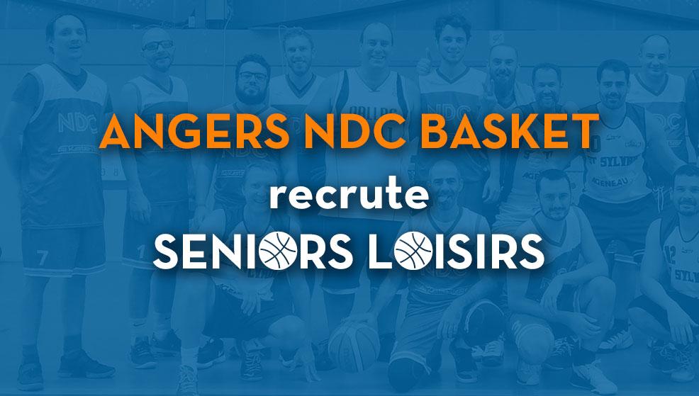 Angers NDC Basket recrute sa seconde équipe loisirs masculine